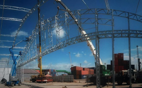 Vinigalpão possui estrutura de aço galvanizado