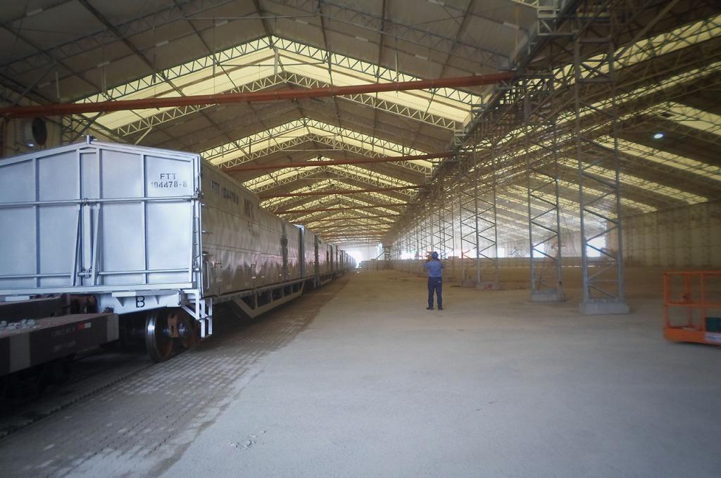 Vinigalpão: Galpão de Lona da Sansuy - amplo espaço